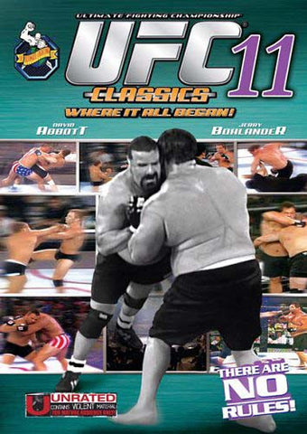 UFC - Ultimate Fighting Championship Classics - Vol. 11 DVD Movie
