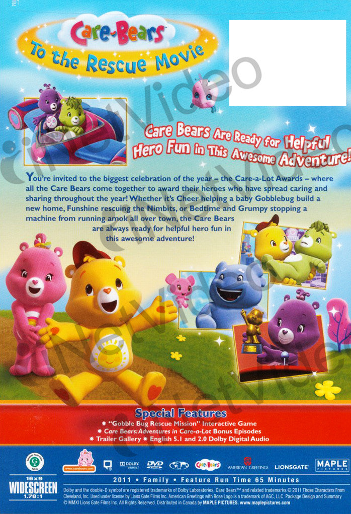 Care Bears To The Rescue Movie On Dvd Movie