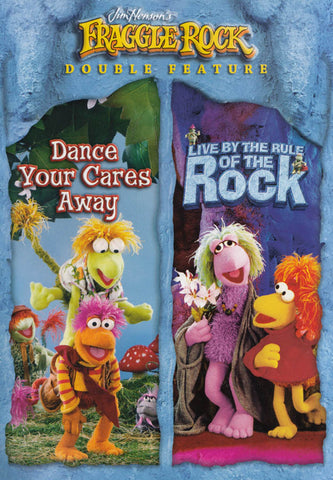 Fraggle Rock: Dance Your Cares Away/Live By The Rule Of The Rock (Double Feature) DVD Movie