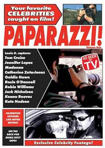 Paparazzi, Vol. 1 DVD Movie