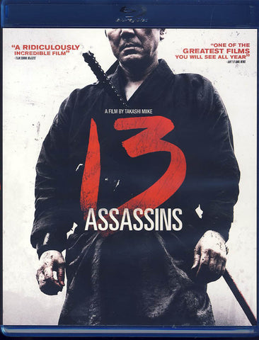 13 Assassins (Bilingual) (Blu-ray) BLU-RAY Movie