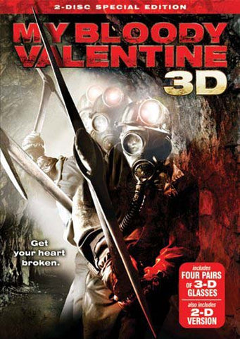 My Bloody Valentine 3D (Two-disc special edition) DVD Movie