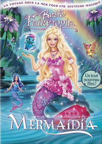 Barbie Fairytopia: Mermaidia (French Version) DVD Movie