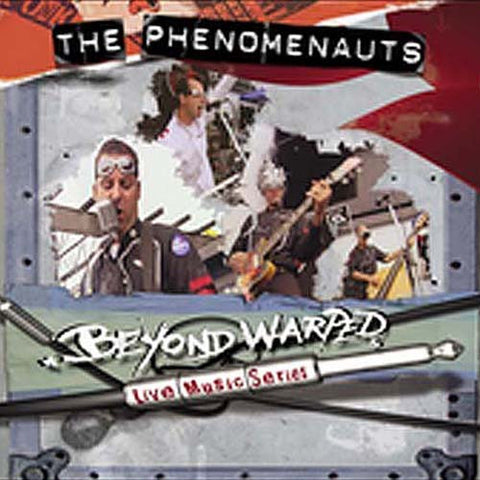 Phenomenauts - Beyond Warped Live Music Series DVD Movie
