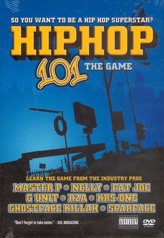 Hip Hop 101 - The Game DVD Movie