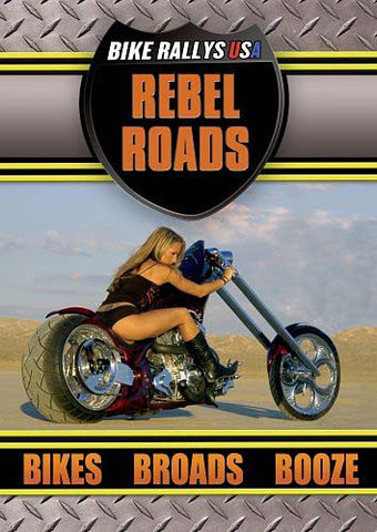 Bike Rally USA - Rebel Roads DVD Movie