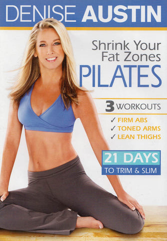 Denise Austin - Shrink Your Fat Zones Pilates (MAPLE) DVD Movie