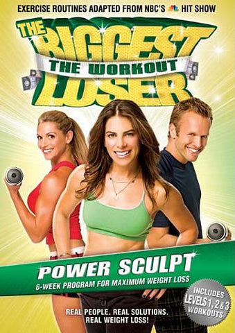 The Biggest Loser - The Workout - Power Sculpt,Vol.4 (LG) (Jillian Michaels) DVD Movie
