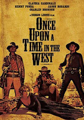 Once Upon a Time in the West DVD Movie