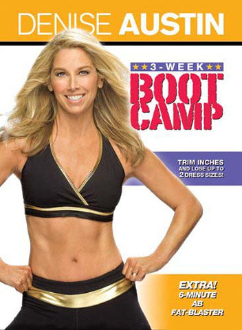 Denise Austin: 3-Week Boot Camp (LG) DVD Movie