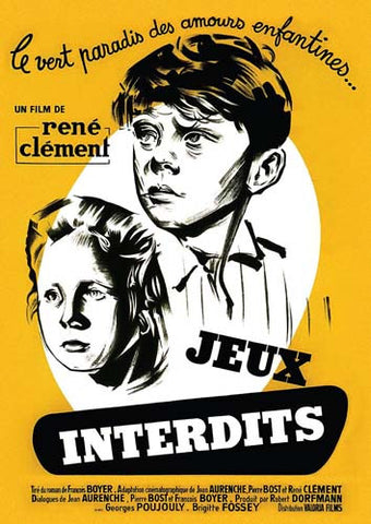 Jeux Interdits DVD Movie