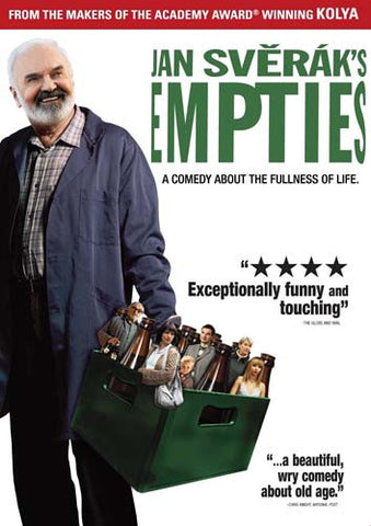 Jan Sverak's Empties DVD Movie