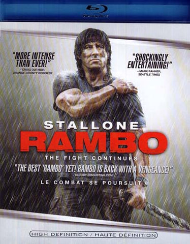 Rambo - The Fight Continues (Single Disc) (Blu-ray) BLU-RAY Movie
