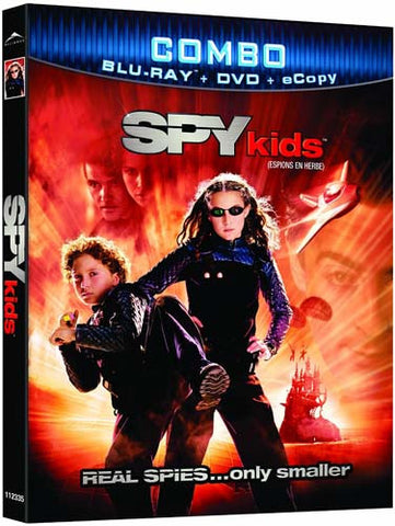 Spy Kids (DVD+Blu-ray+Ecopy Combo) (Bilingual) (Blu-ray) BLU-RAY Movie