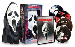 Scream Complete Collection (Scream 1,2,3,4) (With Mask) (Boxset)