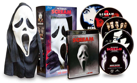 Scream Complete Collection (Scream 1,2,3,4) (With Mask) (Boxset) (Blu-ray) BLU-RAY Movie