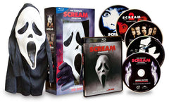 Scream Complete Collection (Scream 1,2,3,4) (With Mask) (Boxset) (Blu-ray)