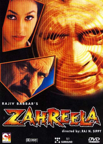 Zahreela (Original Hindi Movie) DVD Movie
