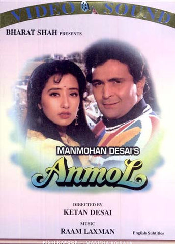 Anmol (Original Hindi Movie) DVD Movie