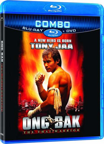 Ong-Bak - The Thai Warrior (DVD+Blu-ray Combo) (Blu-ray) BLU-RAY Movie