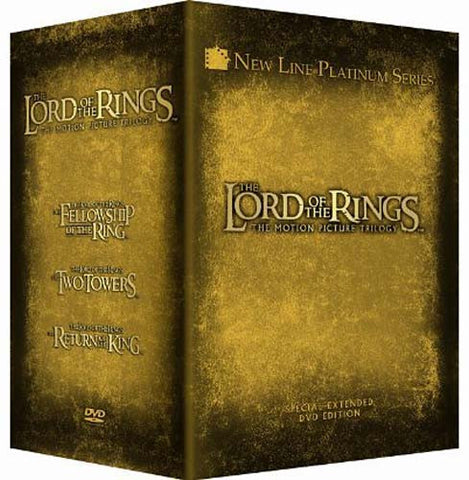 The Lord of the Rings - The Motion Picture Trilogy (Special Extended Edition) (Boxset) DVD Movie