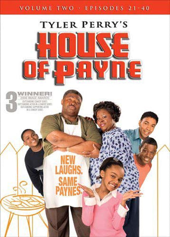 Tyler Perry's House of Payne - Vol. 2 (Episodes 21 - 40) (Boxset) DVD Movie