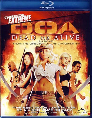 DOA - Dead or Alive (Bilingual)(Blu-ray) BLU-RAY Movie