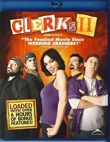 Clerks II (2) (Bilingual) (Blu-ray) BLU-RAY Movie
