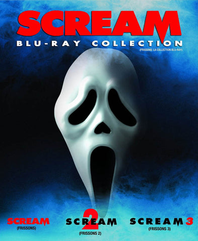 Scream (Blu-ray Collection) (Scream 1-3) (Blu-ray) (Boxset) (Bilingual) BLU-RAY Movie