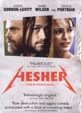 Hesher DVD Movie