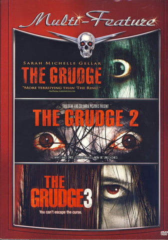 The Grudge 1, 2, 3 (Triple Feature) (Boxset) DVD Movie