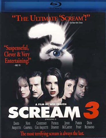 Scream 3 (Bilingual) (Blu-ray) (Bilingual) BLU-RAY Movie