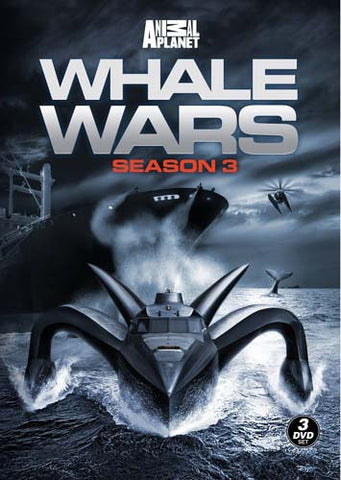 Whale Wars - Season 3 DVD Movie