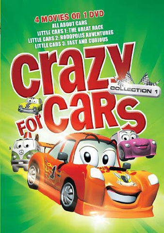 Crazy for Cars Collection - 4 Features on 1 DVD DVD Movie