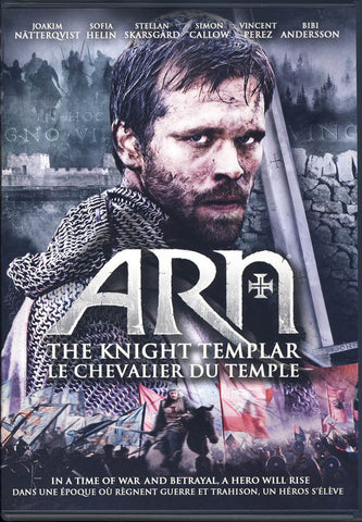 Arn - The Knight Templar (Bilingual) on DVD Movie