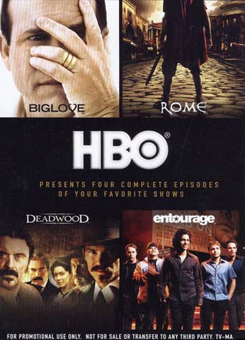 It's Not TV. It's HBO - 4 Episodes Of Shows featuring Big Love, Deadwood, Rome and Entourage DVD Movie