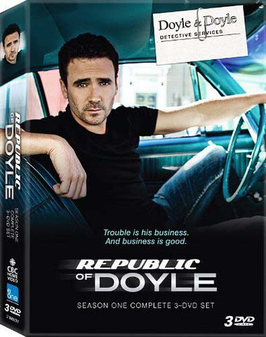 Republic Of Doyle - Season One (1) (Boxset) DVD Movie