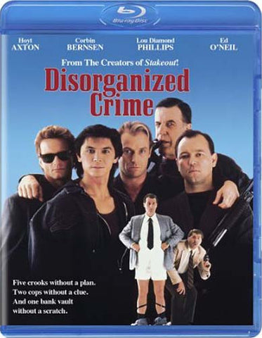 Disorganized Crime (Blu-ray) BLU-RAY Movie