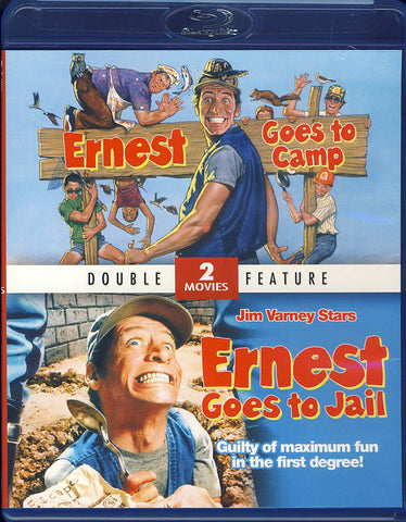 Ernest Goes to Camp / Ernest Goes to Jail (Double Feature) (Blu-ray) BLU-RAY Movie