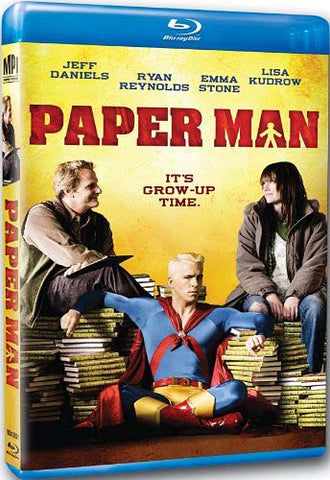 Paper Man (Blu-ray) BLU-RAY Movie