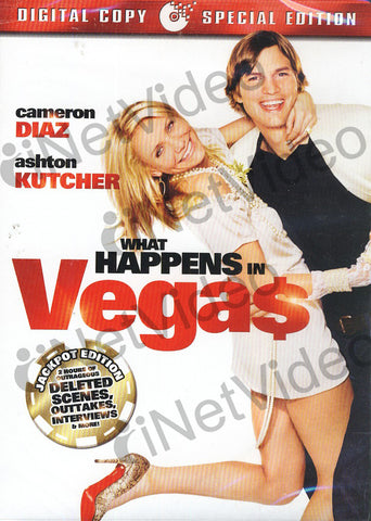 What Happens in Vegas (Extended Jackpot Edition + Digital Copy) (Bilingual) DVD Movie