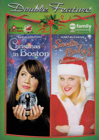 Christmas in Boston / Santa Baby 2 (Double Feature) DVD Movie
