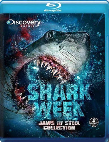 Shark Week - Jaws of Steel Collection (Blu-ray) BLU-RAY Movie