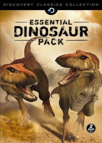 Essential Dinosaur Pack Discovery DVD Movie