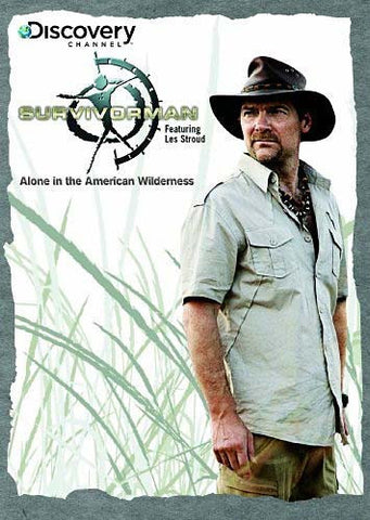 Survivorman: Alone in the American Wilderness DVD Movie