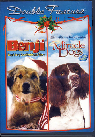 Benji's Very Own Christmas Story/Miracle Dogs (Double Feature) DVD Movie