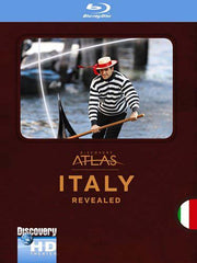 Italy Revealed (Discovery Atlas) (Blu-ray)