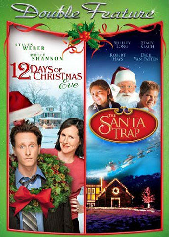 12 Days Of Christmas Eve/The Santa Trap (Double Feature) DVD Movie