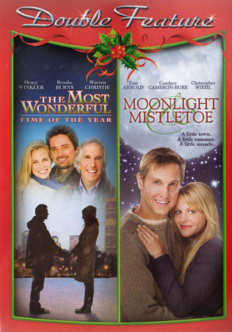The Most Wonderful Time Of The Year/Moonlight And Mistletoe (Double Feature) DVD Movie