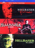 Hellraiser - Vi-Hellseeker / Vii-Deader / Viii-Hellworld (Triple Feature) DVD Movie